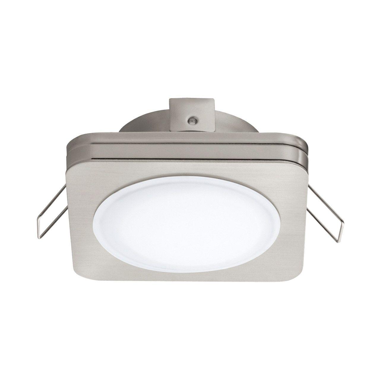 Встраиваемый светодиодный светильник Eglo Pineda 1 95921 встраиваемый светодиодный светильник eglo pineda 95868
