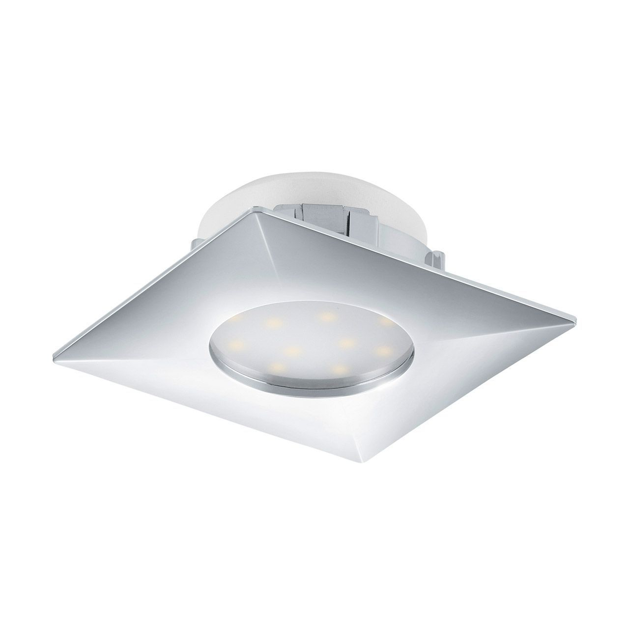 Встраиваемый светильник Eglo, LED, 6 Вт встраиваемый светодиодный светильник eglo pineda 95798