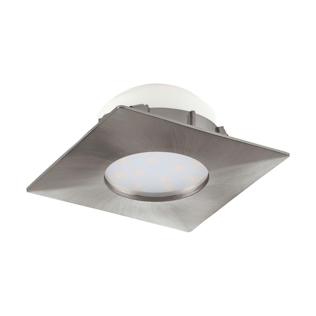 Встраиваемый светодиодный светильник Eglo Pineda 95799 встраиваемый светодиодный светильник eglo pineda 95868