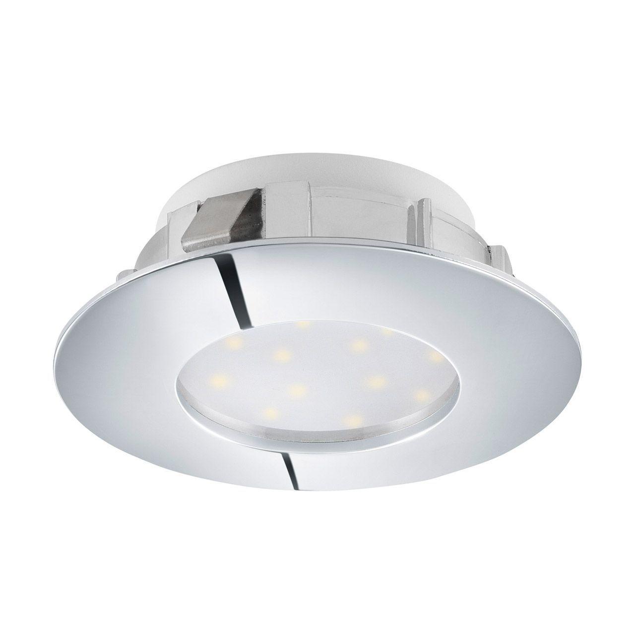 Встраиваемый светильник Eglo, LED, 6 Вт встраиваемый светодиодный светильник eglo pineda 95818