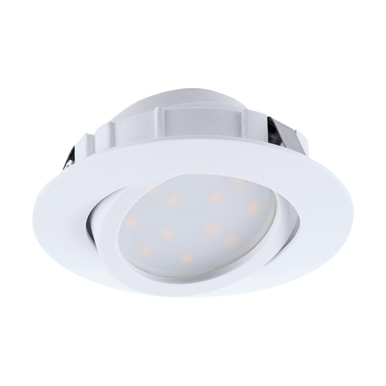 Встраиваемый светодиодный светильник Eglo Pineda 95847 встраиваемый светильник eglo 94402 желтый