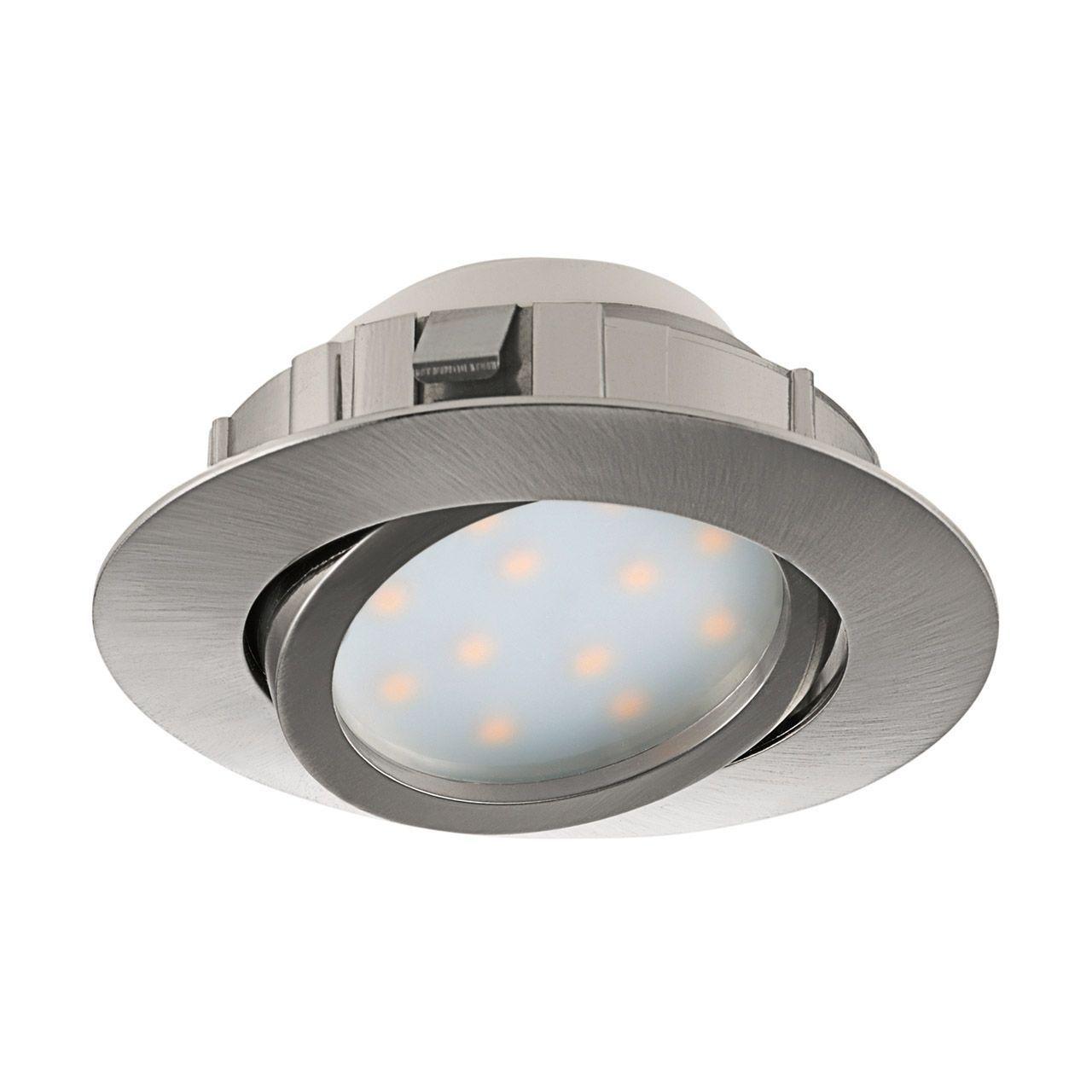 Встраиваемый светодиодный светильник Eglo Pineda 95856 встраиваемый светодиодный светильник eglo pineda 95868