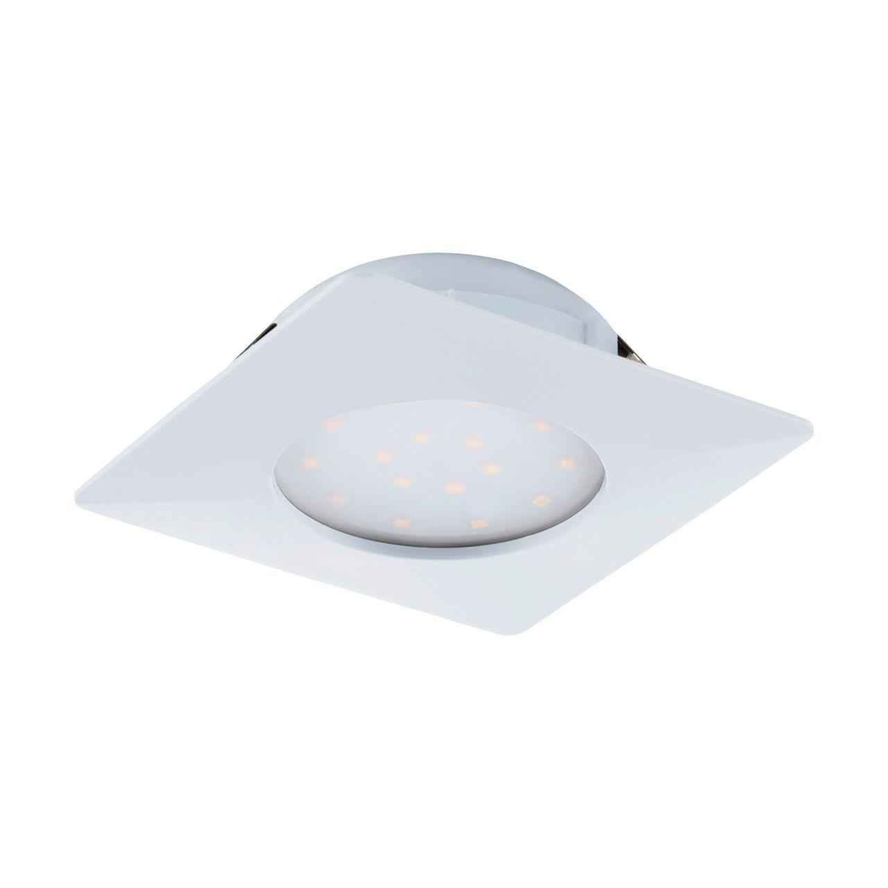 Встраиваемый светодиодный светильник Eglo Pineda 95861 встраиваемый светодиодный светильник eglo pineda 95868