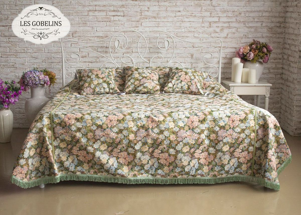 """Покрывало на кровать Les Gobelins """"Nectar De La Fleur"""", 240 х 260 см"""