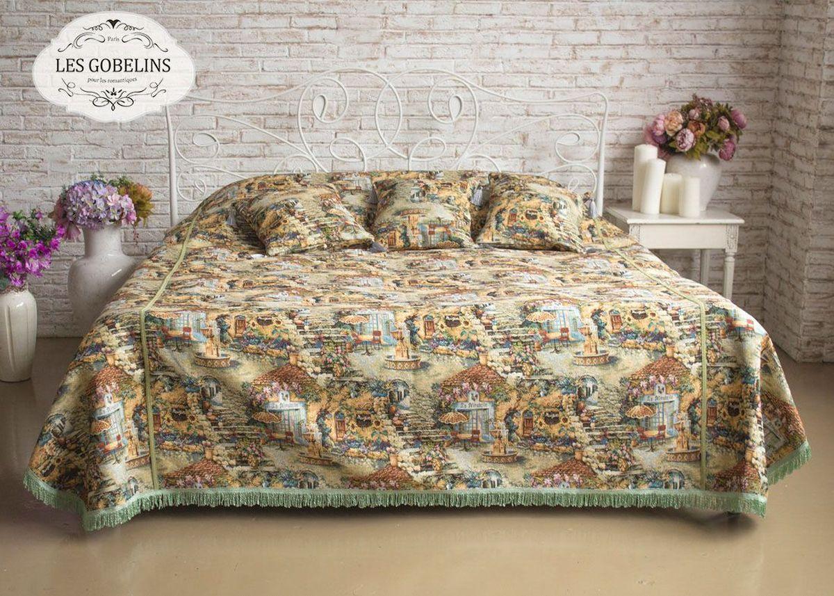 Покрывало на кровать Les Gobelins Jardin D'Eden, 150 х 220 см покрывало на кресло les gobelins fleurs de jardin 50 х 120 см