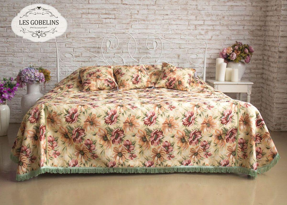 Покрывало на кровать Les Gobelins Coquelicot, 260 х 240 см покрывало на кровать les gobelins nectar de la fleur 240 х 260 см