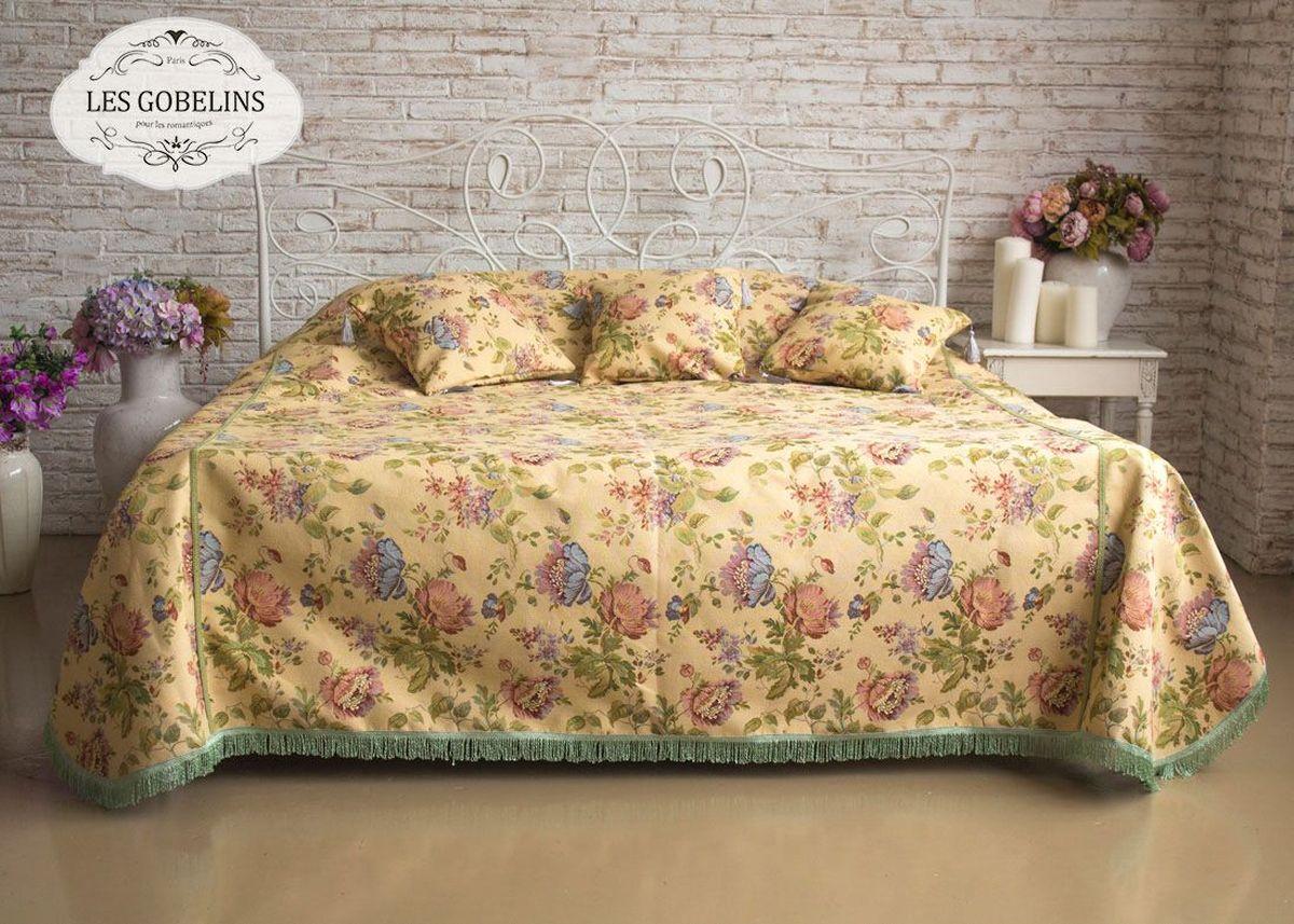Покрывало на кровать Les Gobelins Gloria, 150 х 220 см покрывало les gobelins накидка на диван nectar de la fleur 150х170 см