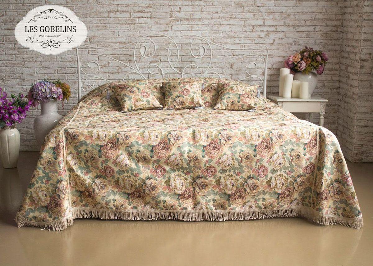 Покрывало на кровать Les Gobelins Fleurs Hollandais, 260 х 240 см покрывало les gobelins накидка на диван fleurs hollandais 160х180 см