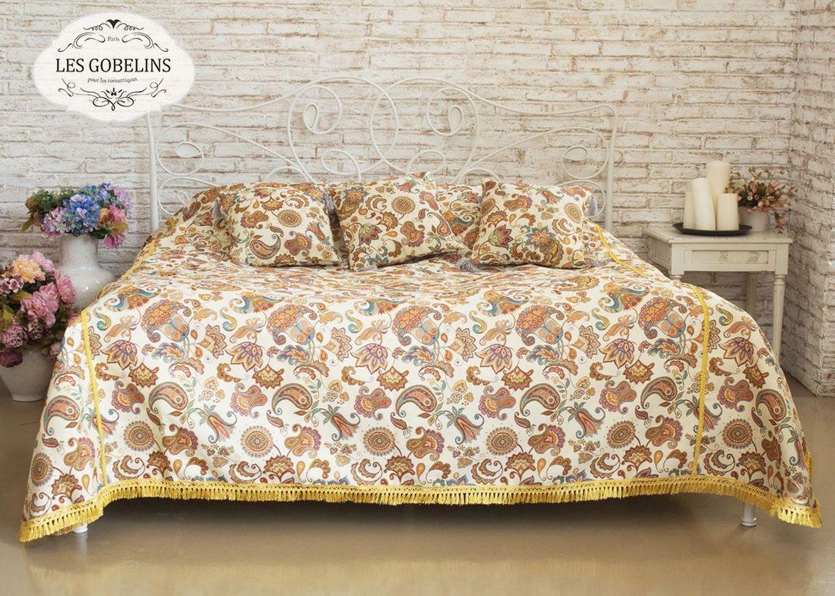 Покрывало на кровать Les Gobelins Ete Indien, 240 х 260 см tonga виброфаллос телесный латекс поясной