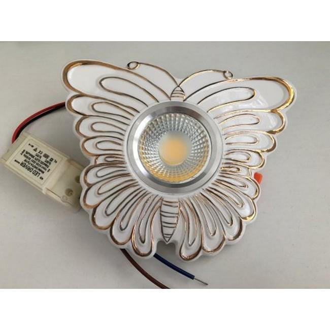 Встраиваемый светодиодный светильник De Markt Круз 637015401 цена