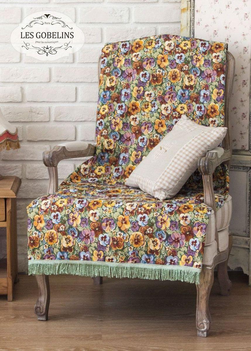 Покрывало на кресло Les Gobelins Fleurs De Jardin, 50 х 120 см покрывало на кресло les gobelins fleurs de jardin 50 х 120 см