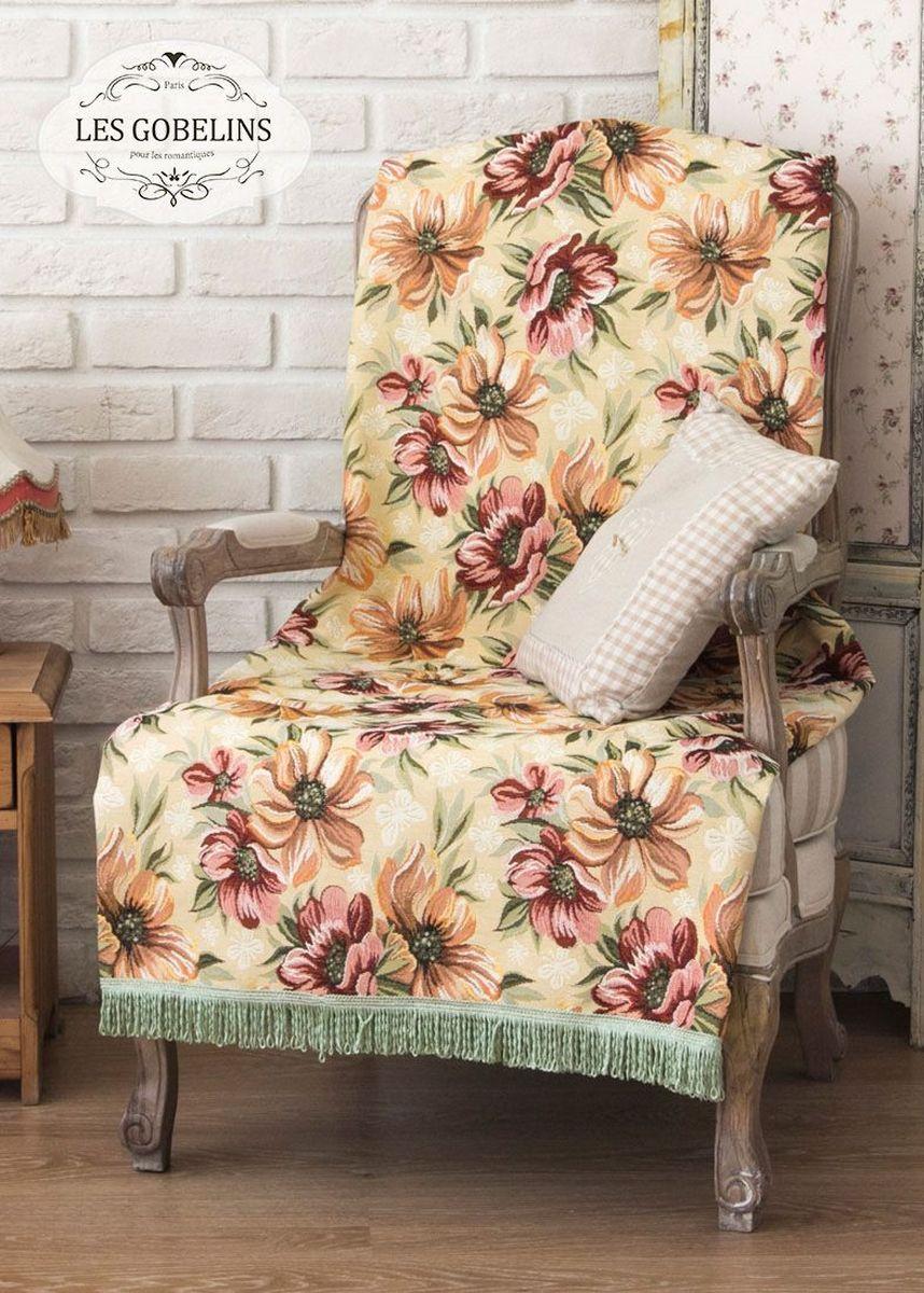 Покрывало на кресло Les Gobelins Coquelicot, 50 х 120 см покрывало на кресло les gobelins fleurs de jardin 50 х 120 см