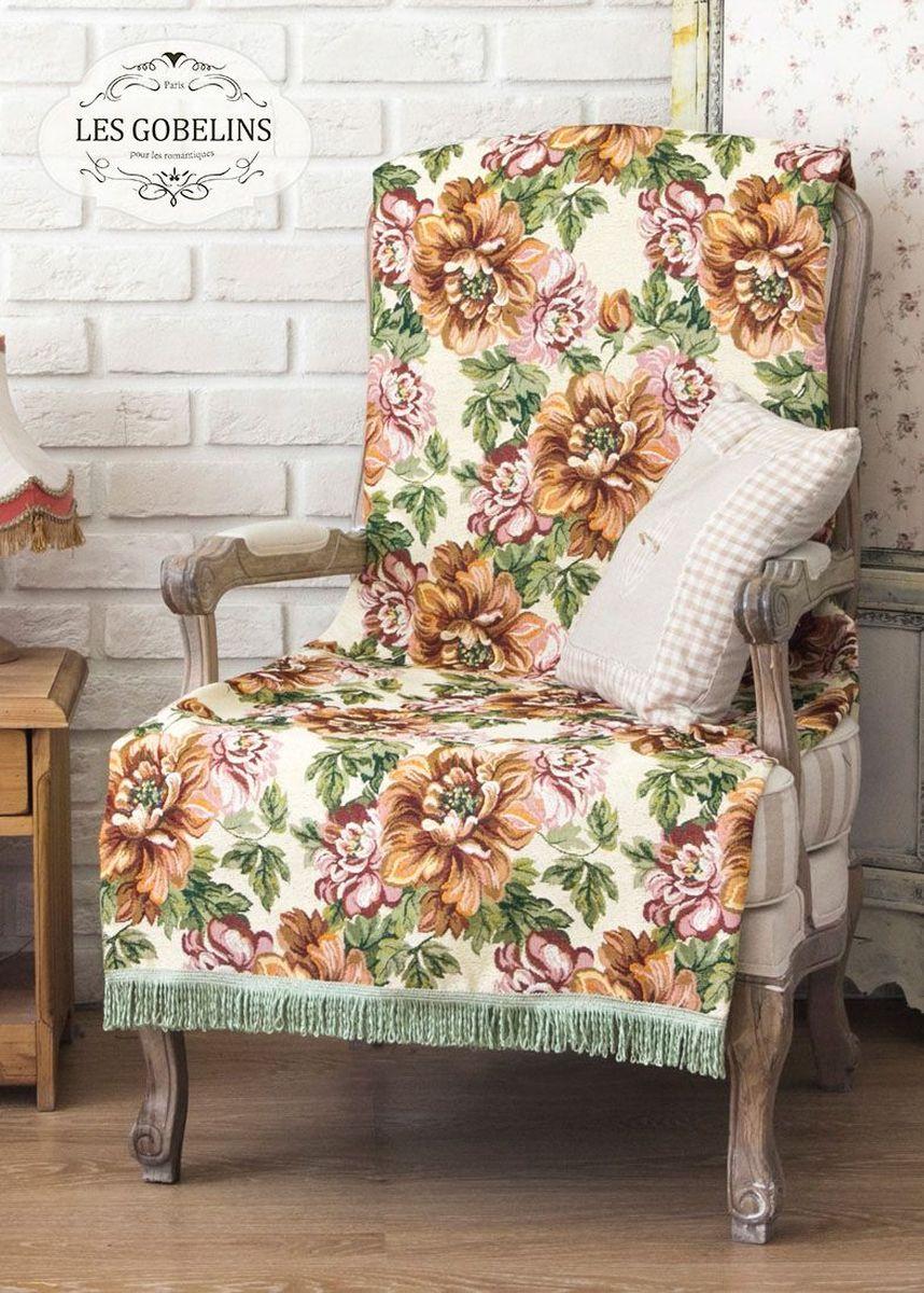 Покрывало на кресло Les Gobelins Pivoines, 50 х 120 см покрывало на кресло les gobelins fleurs de jardin 50 х 120 см