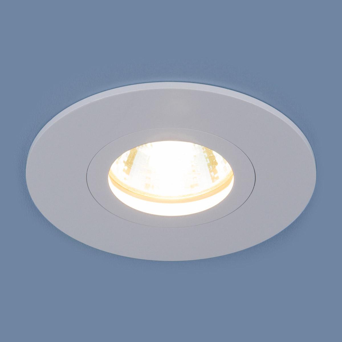 Встраиваемый светильник Elektrostandard, G5.3, 50 Вт недорго, оригинальная цена
