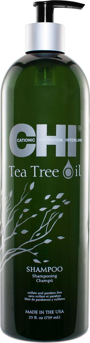 CHI Шампунь с маслом чайного дерева,355 мл