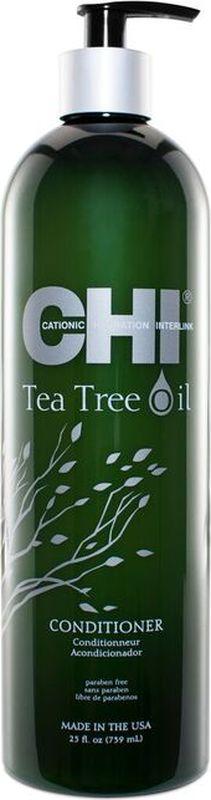 Фото - CHI Кондиционер с маслом чайного дерева,355 мл chi кондиционер оптимальное увлажнение deep brilliance 355 мл