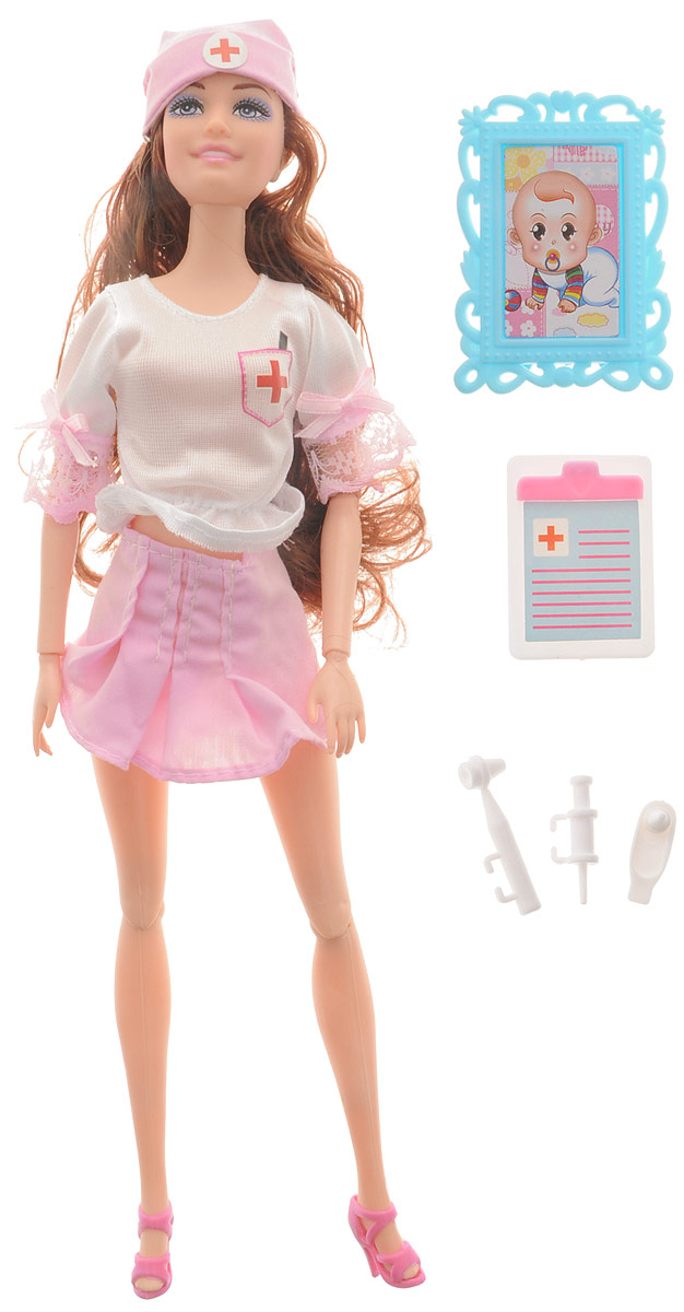Veld-Co Игровой набор с куклой Детский доктор veld co игровой набор с мини куклой русалка и морской конек цвет желтый розовый