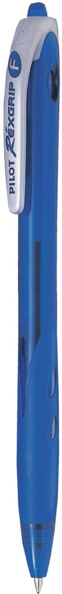 Pilot Ручка шариковая Rexgrip цвет чернил синий 0,5 мм ручка шарик everest пластик полупрозрачн корпус масляные чернила 0 5мм красная пакет