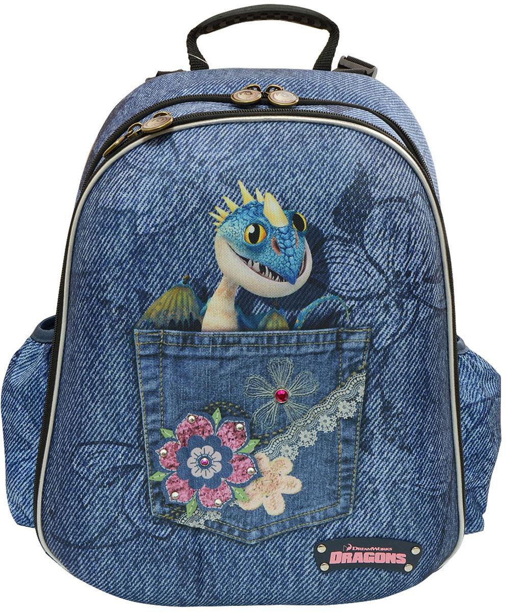 Action! Рюкзак детский Dragons цвет синий