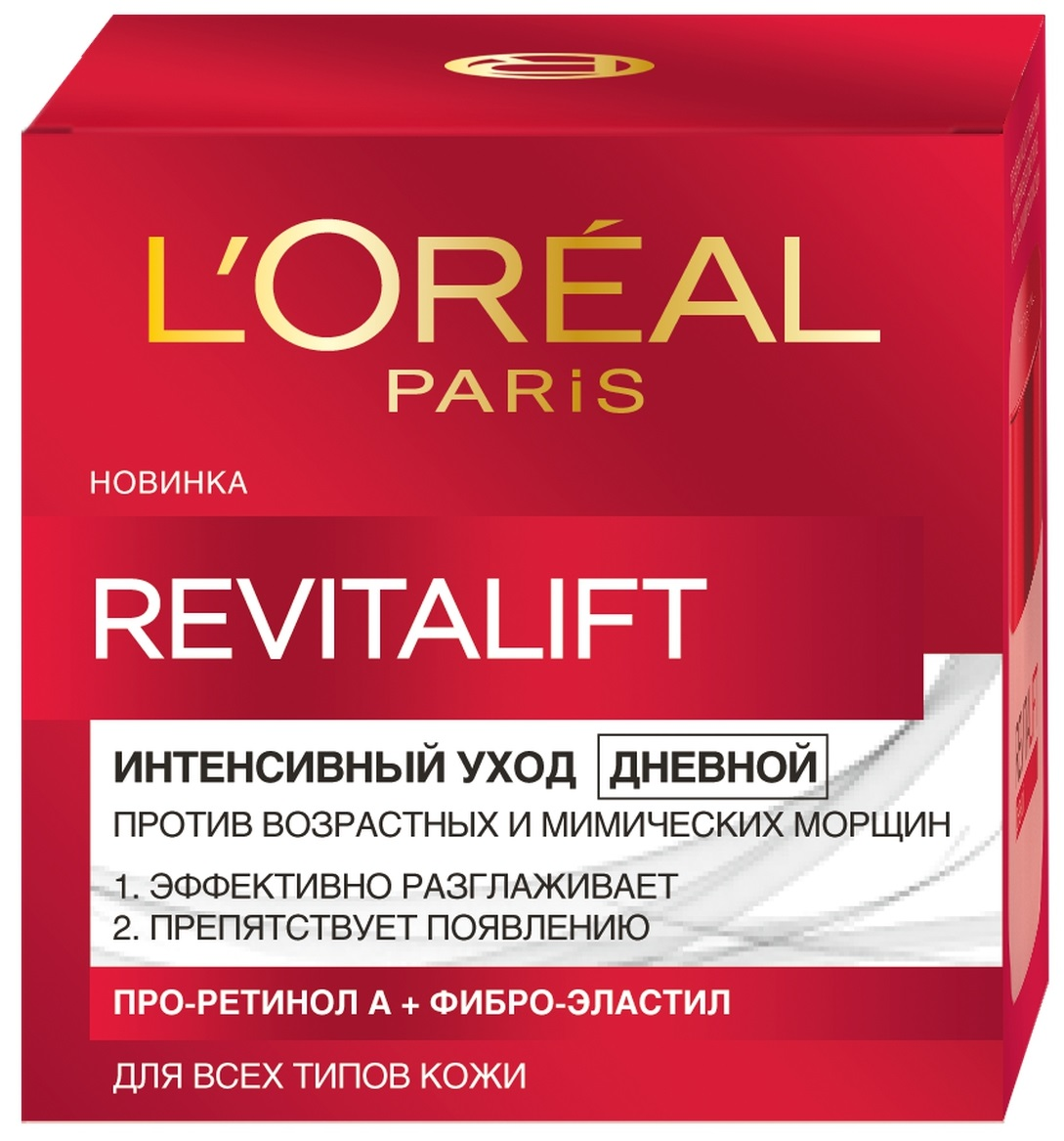 "<b>L'Oreal</b> Paris ""<b>Revitalift</b>"" Дневной антивозрастной <b>крем</b> для лица ..."