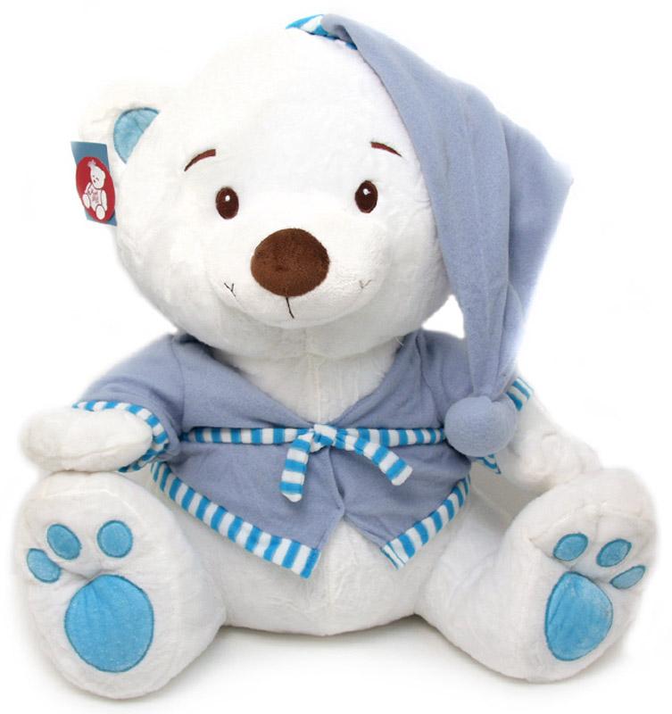 Magic Bear Toys Мягкая игрушка Мишка в халате и колпаке 55 см