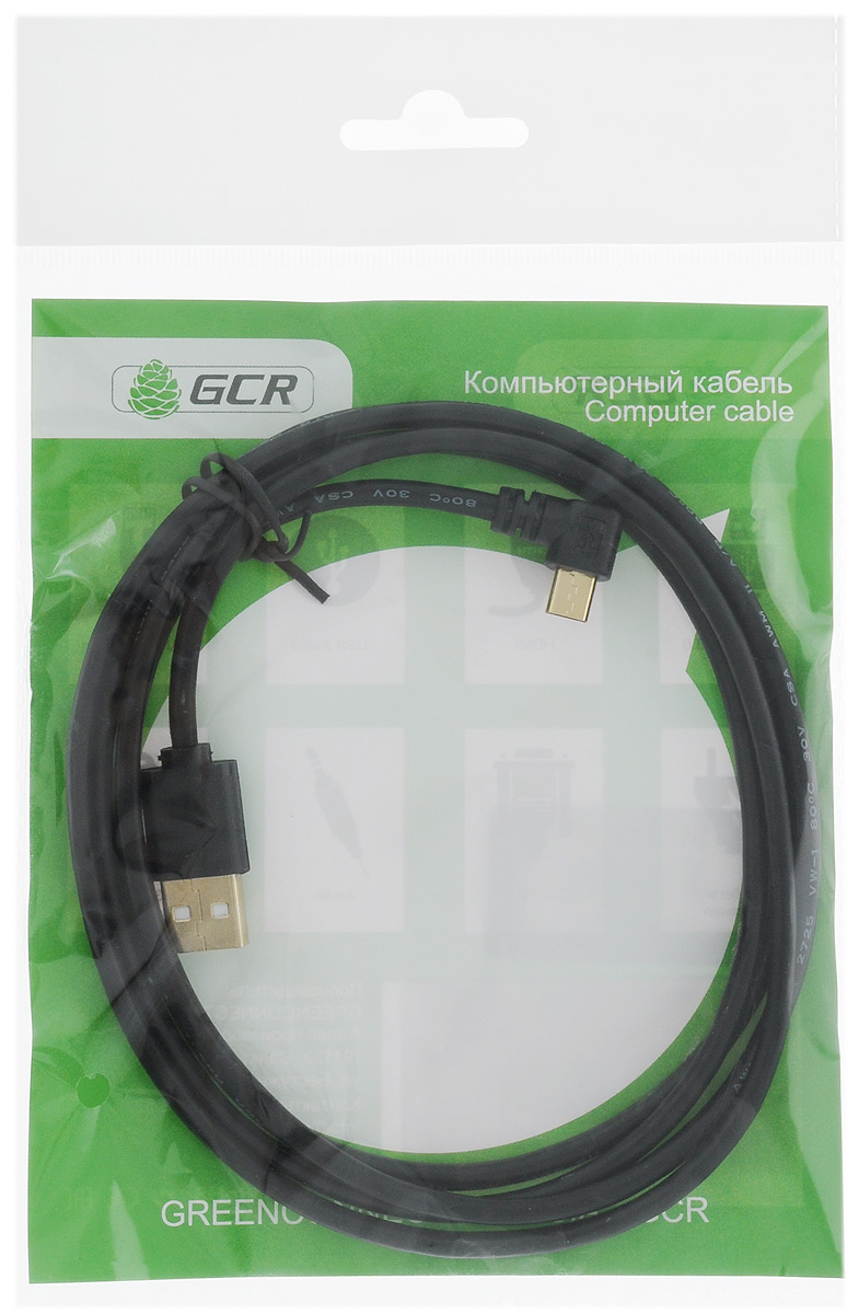 Greenconnect Russia GCR-UA8MCB6-BB2SG, Black кабель microUSB-USB (1,5 м)