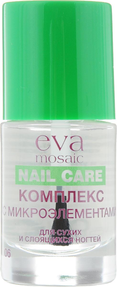 Eva Mosaic Уход для сухих, ломких и слоящихся ногтей, 10 мл nail tek средство для сухих и ломких ногтей citra iii 14 мл