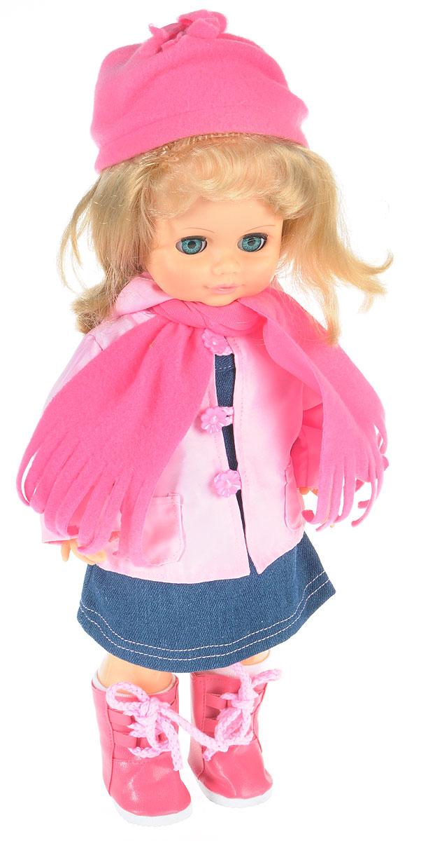Весна Кукла озвученная Инна цвет одежды розовый темно-синий