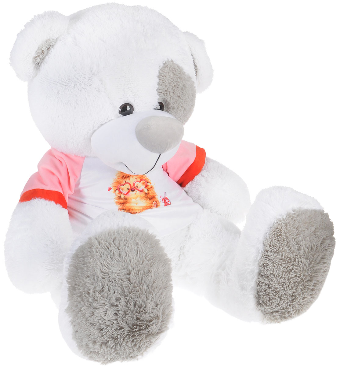 СмолТойс Мягкая игрушка Медвежонок Тишка 75 см смолтойс мягкая игрушка медвежонок монти 100 см