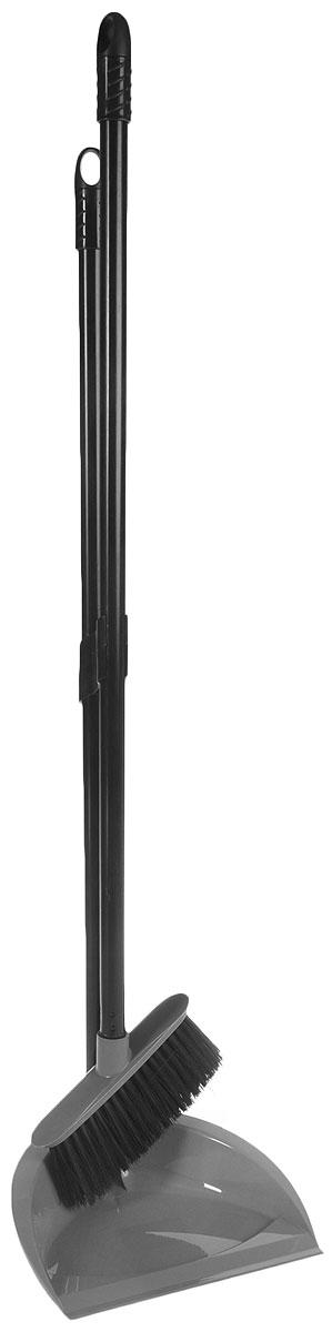 Набор для уборки Svip Классика, цвет: серебряный, 2 предмета совок svip декор прибой