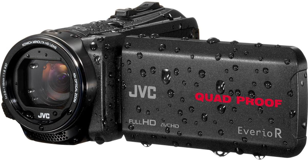 цена на Видеокамера JVC GZ-R430BEU, Black