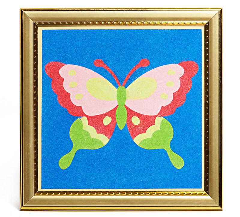 Картинки из цветного песка