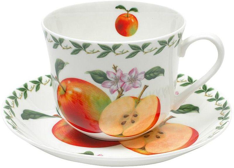 Фото - Чашка с блюдцем Maxwell & Williams Яблоко, 480 мл [супермаркет] jingdong геб scybe фил приблизительно круглая чашка установлена в вертикальном положении стеклянной чашки 290мла 6 z