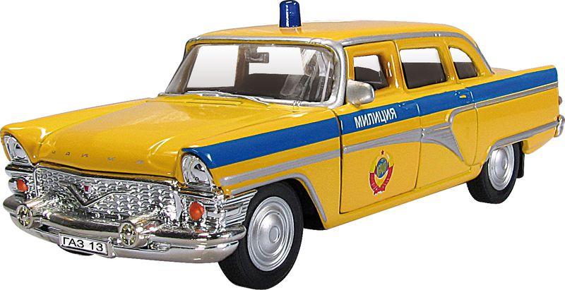 Autotime Модель автомобиля Чайка Советская милиция игрушка технопарк газ 13 чайка милиция 6410 d x600 h09082 r