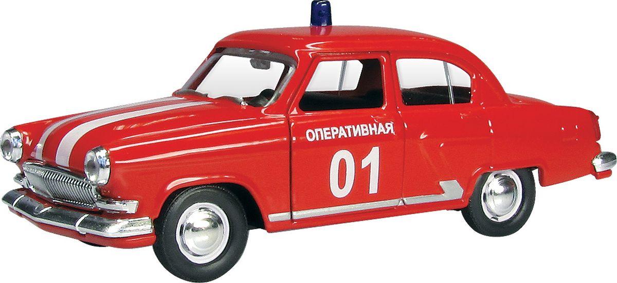 Фото - Autotime Модель автомобиля ГАЗ-21 Волга Пожарная autotime модель автомобиля чайка кгб