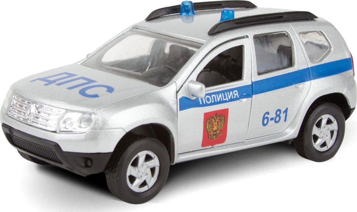 Autotime Модель автомобиля Renault Duster ДПС autotime модель автомобиля uaz 39625 гражданская