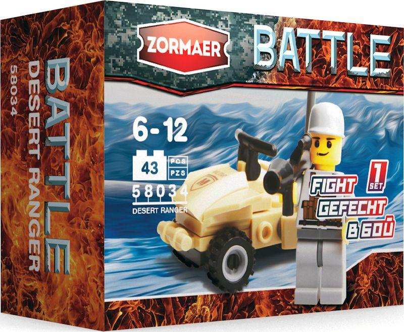 Zormaer Конструктор Рейнджер пустыни конструктор zormaer white guard 96 деталей