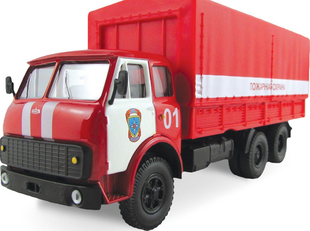 Autotime Модель автомобиля MAZ-516 Пожарная охрана спасти ссср адаптация