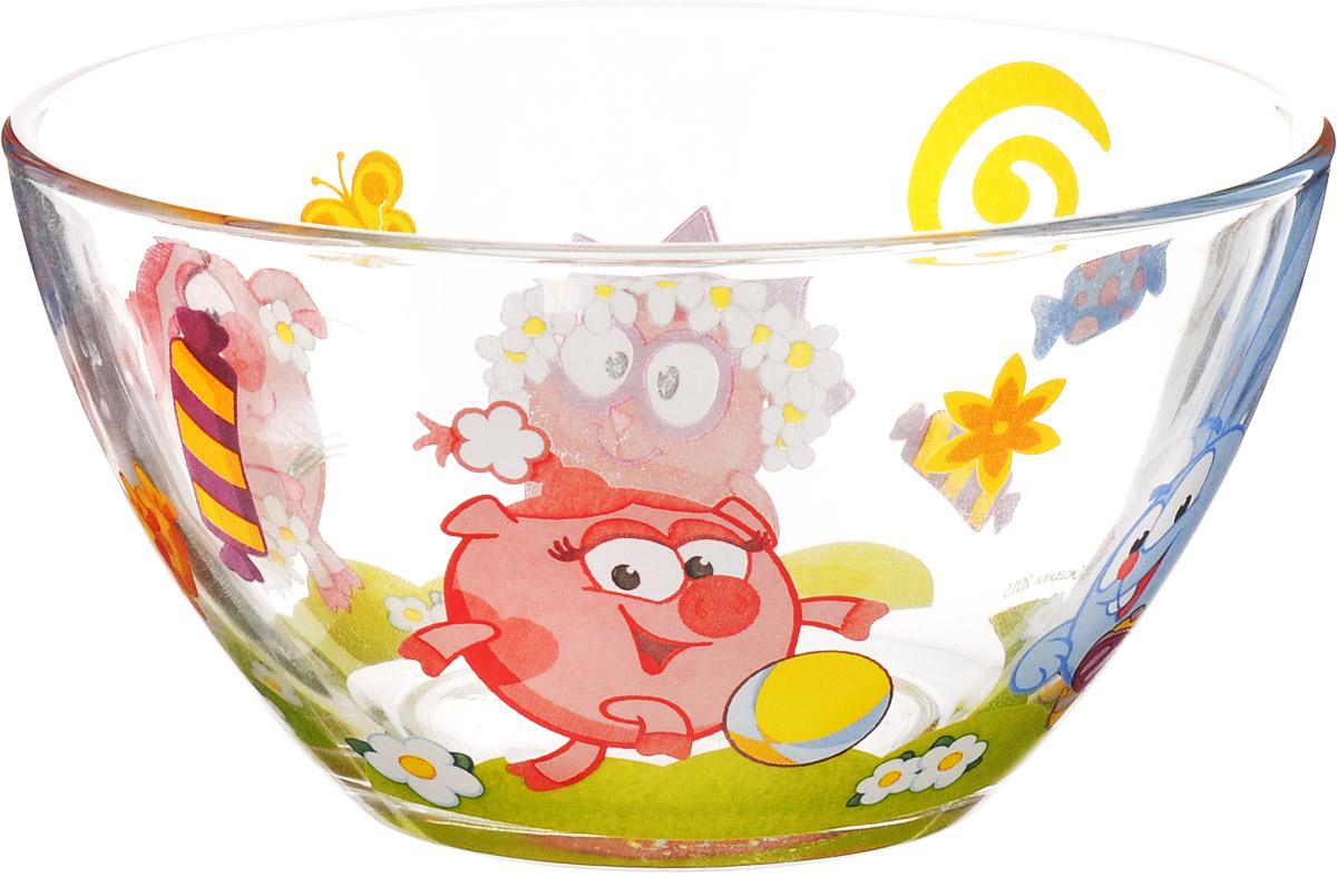 Смешарики Салатник детский Конфеты диаметр 13 см смешарики тарелка детская конфеты диаметр 19 5 см