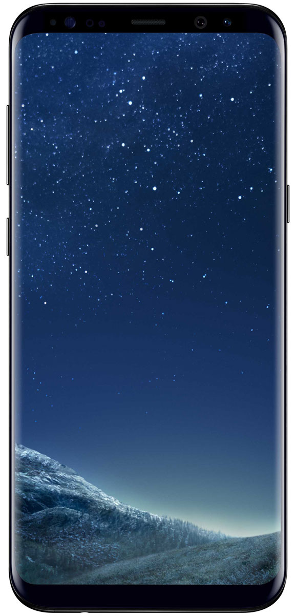 Смартфон Samsung Galaxy S8+ 64 GB, черный