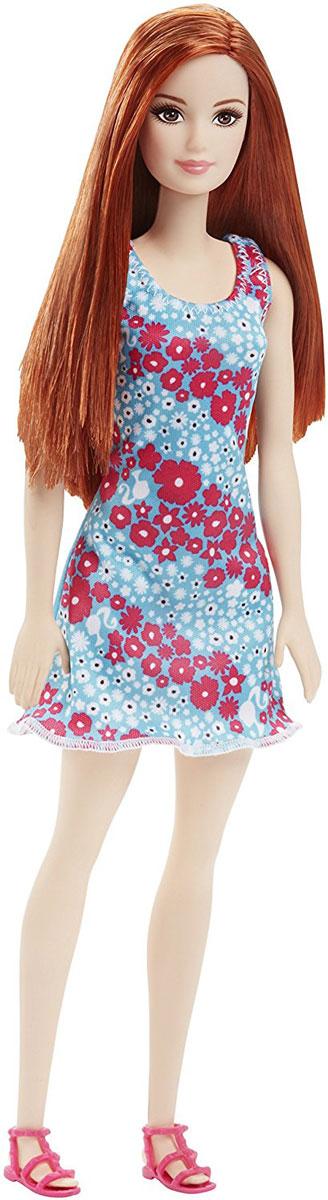 Barbie Кукла цвет платья голубой розовый белый