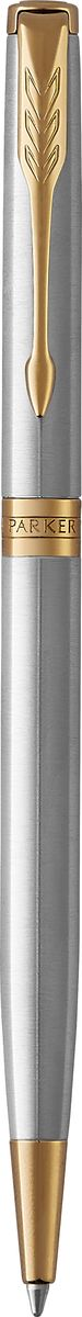 Parker Ручка шариковая Sonnet Slim Stainless Steel GT ручка шариковая parker паркер sonnet slim k427 s0809150 stainless steel gt m черные чернила подар кор
