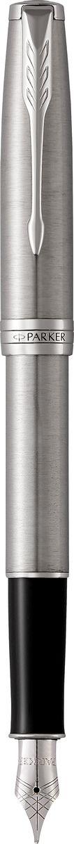 Parker Ручка перьевая Sonnet Stainless Steel СT цены