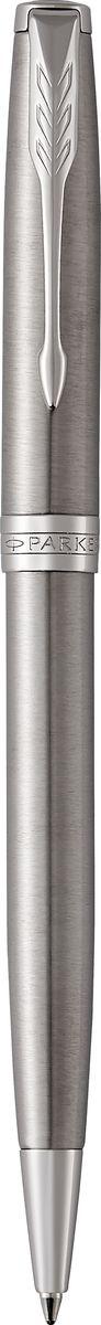 Parker Ручка шариковая Sonnet Stainless Steel CT, цвет чернил: черный цены