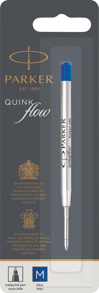Parker Стержень для шариковой ручки Quink Flow цвет синий цена