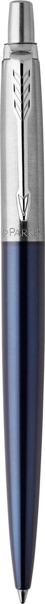 Parker Ручка шариковаяJotter Royal цвет синийPARKER-1931521Марка Parker гарантирует полную уверенность в превосходном качестве товара. Ручка Parker Jotter Royal будет не только долго служить, но и неизменно радовать удобством и легкостью письма, надежностью в эксплуатации и прекрасным эстетическим исполнением. Удивительное разнообразие моделей, а также великолепие и надежность отделки поверхностей позволяют удовлетворить даже самые взыскательные вкусы, обеспечивая при этом безукоризненность исполнения самых разных задач в процессе письма и соответствие различным стилям письма. Рекомендуем!