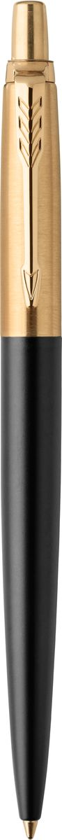 Parker Ручка шариковая JOTTER PREMIUM BOND STREET BLACK GT шариковая ручка автоматическая parker jotter premium k176 tower синий m 1953194