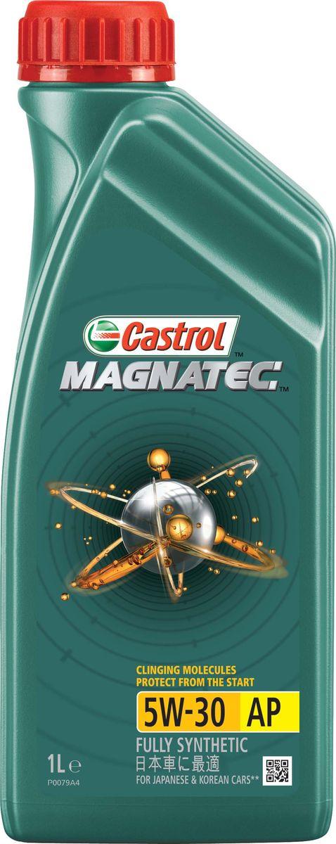 """Масло моторное Castrol """"Magnatec"""", синтетическое, класс вязкости 5W-30, AP, 1 л"""