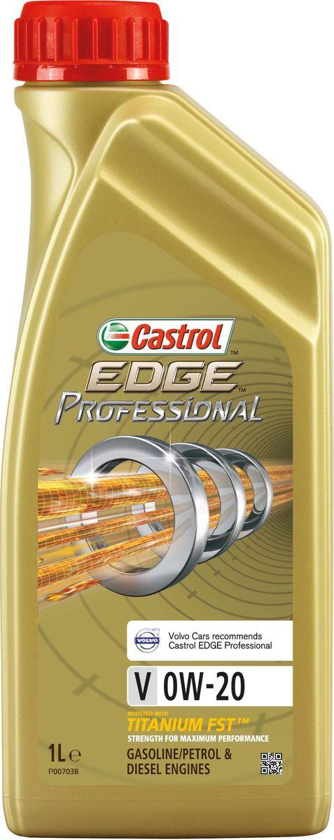 """Масло моторное Castrol """"Edge Professional"""", синтетическое, V 0W-20, 1 л"""
