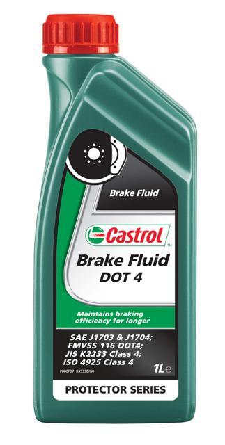Жидкость тормозная Castrol Brake Fluid DOT 4, 1 л